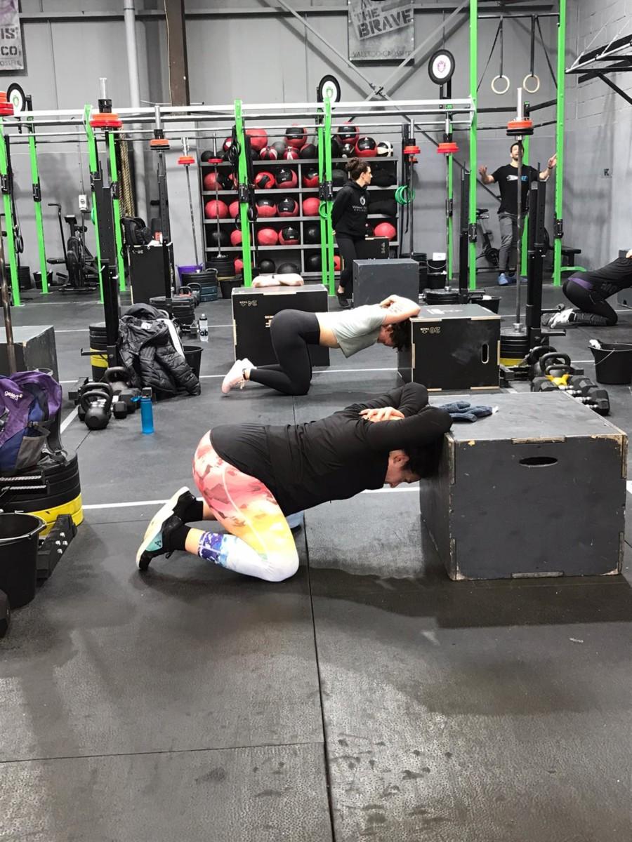 Deload week stretching
